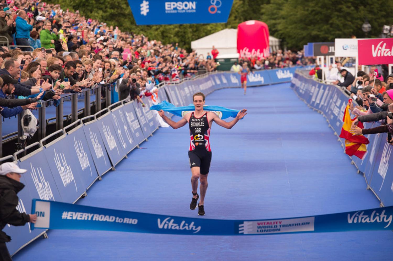 ITU World Triathlon Series London