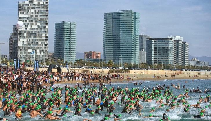 Barcelona Triathlon - Swim